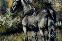 Selling: Original Horse Painting