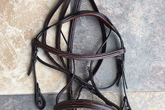 Selling: Show Hunter Bridle and Laced Reins