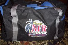Selling: Wrangler NFR 2013 Las Vegas medium Duffle Bag 24x12x14