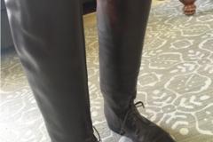 Selling: Beautiful Women's Cordovan Leather Custom Field Boots Size 7
