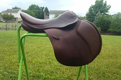 "Selling: Loxley Jumping Saddle by Bliss 17.5"" M/W"