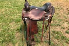 "Selling: Circle Y Omaha Flex 2 Trail Saddle 16.0"""