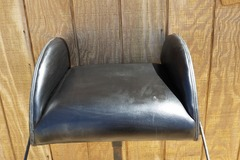 Selling:  Black Vinyl Carriage Booster Seat