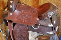Selling: Royal King Western Saddle with Silver Embellishments 16""