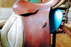 """Selling: Fel Bach Husar All Purpose English Saddle Excellent 17"""""""