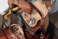 "Selling: Double TT Barrel Saddle 15"""