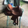 "Selling: Dakota Barrel Saddle 14.5"""