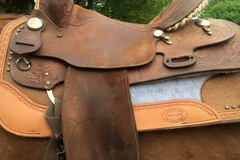 "Selling: 15"" Billy Cook Barrel Saddle 14"""