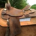 """Selling: 15"""" Billy Cook Barrel Saddle 14"""""""