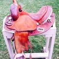 "Selling: Martha Josey Circle Y Saddle 14"""