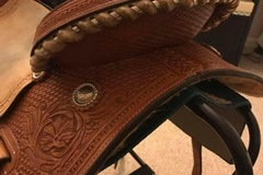 Selling: Corriente Barrel Saddle 14.5""