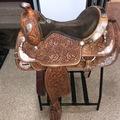 "Selling: Western Pleasure Show Saddle 16.5"""