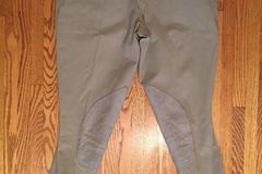 Selling: Men's Pikeur Breech Riding Pants Mens 36 USA Tan Breeches