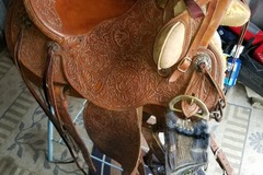 Selling: Handmade Custom Earl Twist Wade Saddle 16""