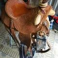 "Selling: Handmade Custom Earl Twist Wade Saddle 16"""