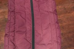 Selling: Quilted bridle bag - burgandy