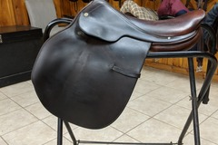 Selling: Hermes Steinkraus Saddle 17""