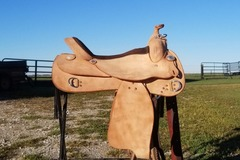 Selling: 2017 RS Saddlery Saddle 17""