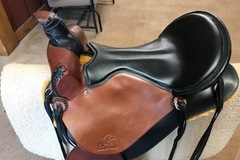 Selling: Synergist Custom Trail Saddle 17""