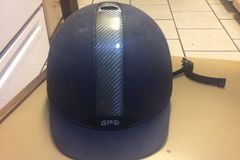 Selling: GPA Black Riding Helmet 55