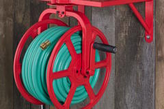Selling: Water Hose Reel Wall Mount Swivel Holds Up To 125'of Hose