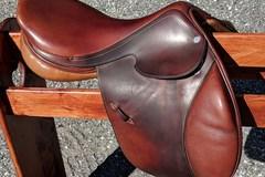 """Selling: Hermes Brasilia Jumping Saddle Buffalo Leather  17.5"""""""