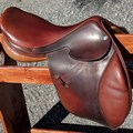 Selling: Hermes Brasilia Jumping Saddle Buffalo Leather  17.5""