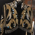 Selling: Trudy Black Label Black and Gold Bolero Set