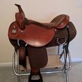 """Selling: Fabtron Draft Saddle Like New 16.5"""""""