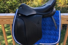 Selling: New Stubben Euphoria Dressage Saddle 18""