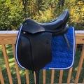 "Selling: New Stubben Euphoria Dressage Saddle 18"""