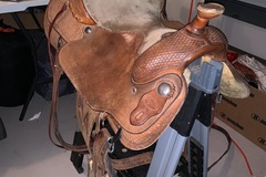 Selling: Ryon's Custom Saddle 16""