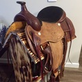 """Selling: Roping Saddle and Stand 16"""""""