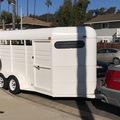 Selling: 3 Horse Slant Bumper Pull Trailer
