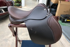 Selling: New Barnsby Omega Saddle 17.5""