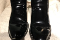 Selling: Smokey Mountain Patent Leather Boots Black Size 9