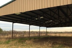 Selling: Clear Span Riding Arena 80 ft x 100 ft.
