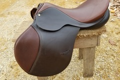 """Selling: Brand New Berney Brothers Jumping Saddle 17"""""""