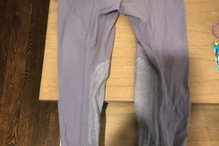Selling: Girls Tailored Sportsman Breeches size 10 purple