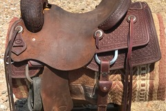 Selling: Ranch Work Saddle 15""