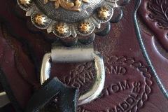 """Selling: Dixieland Gaited Saddle 16"""""""