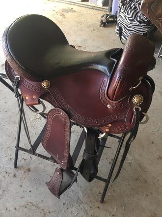 Dixieland Gaited Saddle 16