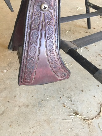 Dixieland Gaited Saddle 16