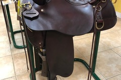 Selling: Brand New Tucker High Plains Trail Saddle 16.5""