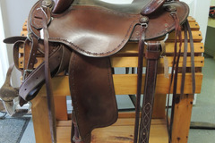 Selling: Clinton Anderson Saddle by Martin Saddlery 15""