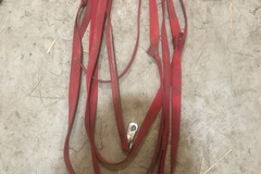 Selling: Red Nylon Lunge Line