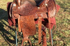 Selling: Circle Y Yoacum TX Western Trail Saddle 15""