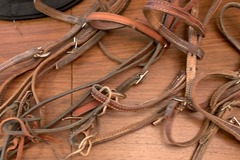 Selling: Leather Headstalls