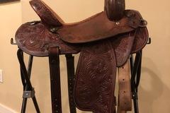"""Selling: Brittney Pozzi Double J Saddle 13.5"""""""