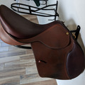 Selling: Nearly New Pessoa A/O AMS Saddle with XCH gullet  18""